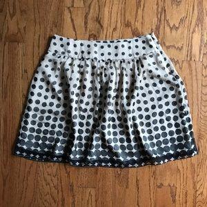 The Limited Polka Dot Skirt   sz 6